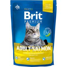 Сухой корм для котов Brit Premium Cat Adult Salmon 800 г