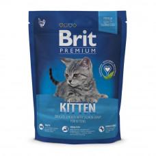 Сухой корм для котят Brit Premium Cat Kitten 800 г (курица)