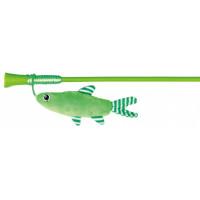 Палочка с плюшевой рыбкой 42см
