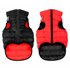 Курточка для собак AiryVest двусторонняя, размер M 47, красно-черная