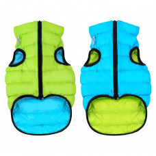 Курточка для собак AiryVest двусторонняя, размер S 40, салатово-голубая