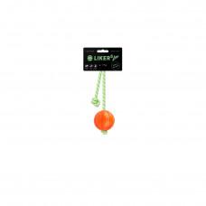 Мячик ЛАЙКЕР5 Люми на шнуре, диаметр 5 см