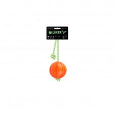 Мячик ЛАЙКЕР7 Люми на шнуре, диаметр 7 см