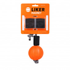 Мячик ЛАЙКЕР7 Магнит с комплектом магнитов, диаметр 7 см