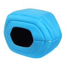 Домик для домашних животных AiryVest, размер S, 55*22*34 см, голубой