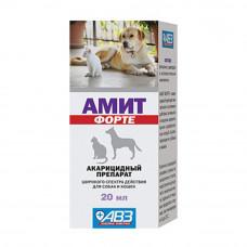 АМИТ ФОРТЕ акарицидный препарат для соб, кош 20мл (AB710)