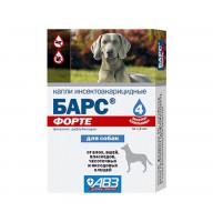 Капли БАРС ФОРТЕ п/б для собак (4пип.) (AB711)
