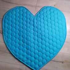 Многоразовые пеленки-коврики для собак и других домашних животных сердце 60 см