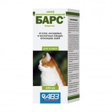 Спрей БАРС 100 мл для кошек (AB773)