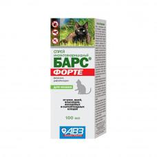 Спрей БАРС ФОРТЕ 100 мл для кошек (AB736)