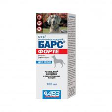 Спрей БАРС ФОРТЕ 100 мл для собак (AB737)