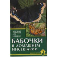 Бабочки в домашнем инсектарии(Ткачев О.)-64с бр