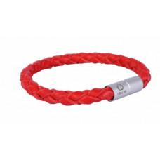Браслет CoLLaR GLAMOUR, длина 20 см, красный