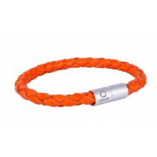 Браслет CoLLaR GLAMOUR, длина 20 см, оранжевый