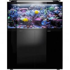 Комплект Glossy Marine 120 Set аквариум и подставка черный 350л