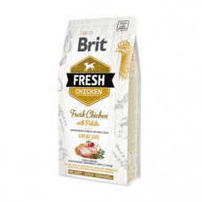Сухой корм для взрослых собак Brit Fresh Chicken/Potato Adult курица и картофель 2.5кг