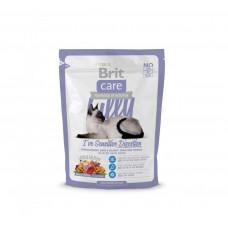 Сухой корм Brit Care Cat Lilly I have Sensitive Digestion для кошек с чувствительным пищеварением 0.7кг