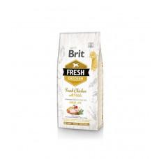 Сухой корм для взрослых собак Brit Fresh Chicken/Potato Adult курица и картофель 12кг