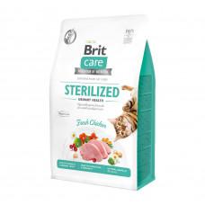 Сухой корм Brit Care Cat GF Sterilized Urinary Health уринари для стерилизованных котов 0.4кг