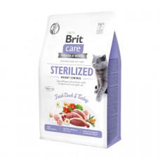 Сухой корм Brit Care Cat GF Sterilized Weight Control контроль веса для стерилизованных котов 0.4кг