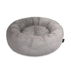 Лежак SOFT 48x48x17см серый
