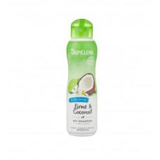 Шампунь TropiClean Lime&Coconut Лайм и кокос 355мл