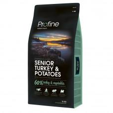 Сухой корм для собак Profine Senior Turkey индейка 15кг