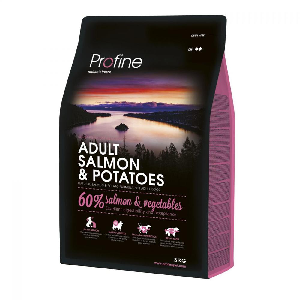 Сухой корм для собак Profine Adult Salmon 3кг