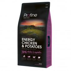 Сухой корм для собак с повышенной нагрузкой Profine Energy Chicken курица 15кг