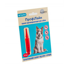 Капли на холку Профилайн инсектоакарицид для собак 10кг-20кг 1 упаковка 1 пипетка 2мл