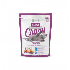 Сухой корм для котят 1-12 месяцев Brit Care Cat Crazy I am Kitten 0.4кг
