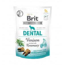 Функциональные лакомства Brit Care Dental оленина с розмарином для собак, 150гр