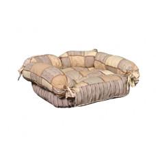 Лежак (лежанка) для кошек и собак Мур-Мяу Барон МИНИ Бежевый