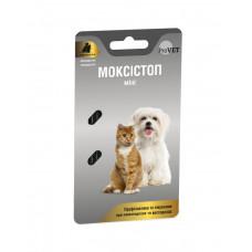 МОКСИСТОП МИНИ для собак/котов 1 таблетка на 4  кг, 1  уп.  (2 табл.) (антигельминтик)