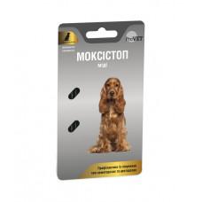 МОКСИСТОП МИДИ для собак 1табл. на 10 кг, 1 уп. (2 табл.) (антигельминтик)