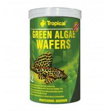Корм для анциструсов и птеригоплихтов Green algae wafers 1л 450гр