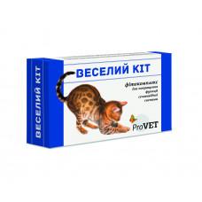 Эмульсия Веселий кiт для кошек 3 шприц-тубы по 5мл