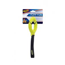 Игрушка для собак NERF Tire Glide Tug маленькая зеленая/синяя