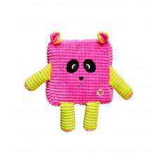 Игрушка для собак GimDog Мордочки MINI CUDDLY CUBES 20.8см, розовый
