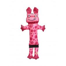 Игрушка для собак GimDog Робот 38см, розовый