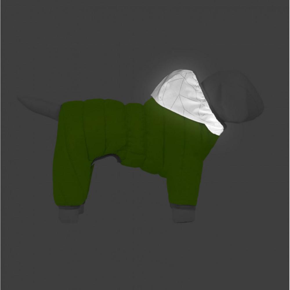 Комбинезон д/собак AiryVest ONE, размер L 55, салатовый