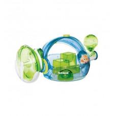Клетка для грызунов Habitrail Ovo Home-Blue Edition пластик 55.8x27.9x25см