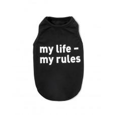 Борцовка черная my life - my rules XS