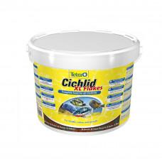 Большие хлопья для цихлид Tetra CICHLID XL 10л, 1.9кг