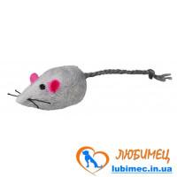 Мышка мехов. серая 5см