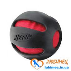 Игрушка NERF Squeak 4 шт мячики черные маленькие д/собак