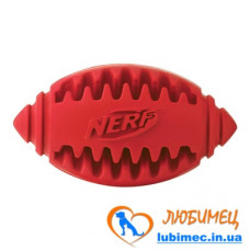 Игрушка NERF Teether Football зеленая/красная маленькая д/собак