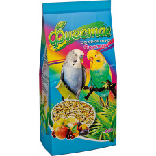 Фиеста фруктовый корм для волнистых попугаев 650грамм