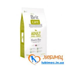 Brit Care Adult Small Breed Lamb & Rice 7,5 kg (д/собак весом до 10 кг)