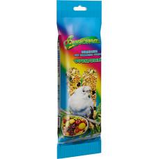 Корм и лакомство для мелких декоративных птиц Природа Фиеста колосок Фруктовый 100г